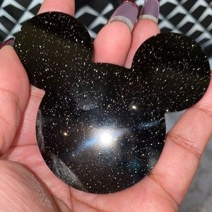 Black Mickey Pop Socket